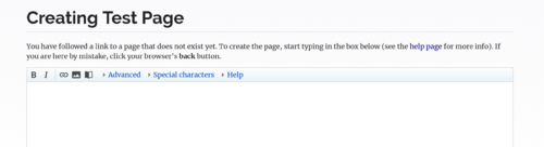 WikiEditor toolbar